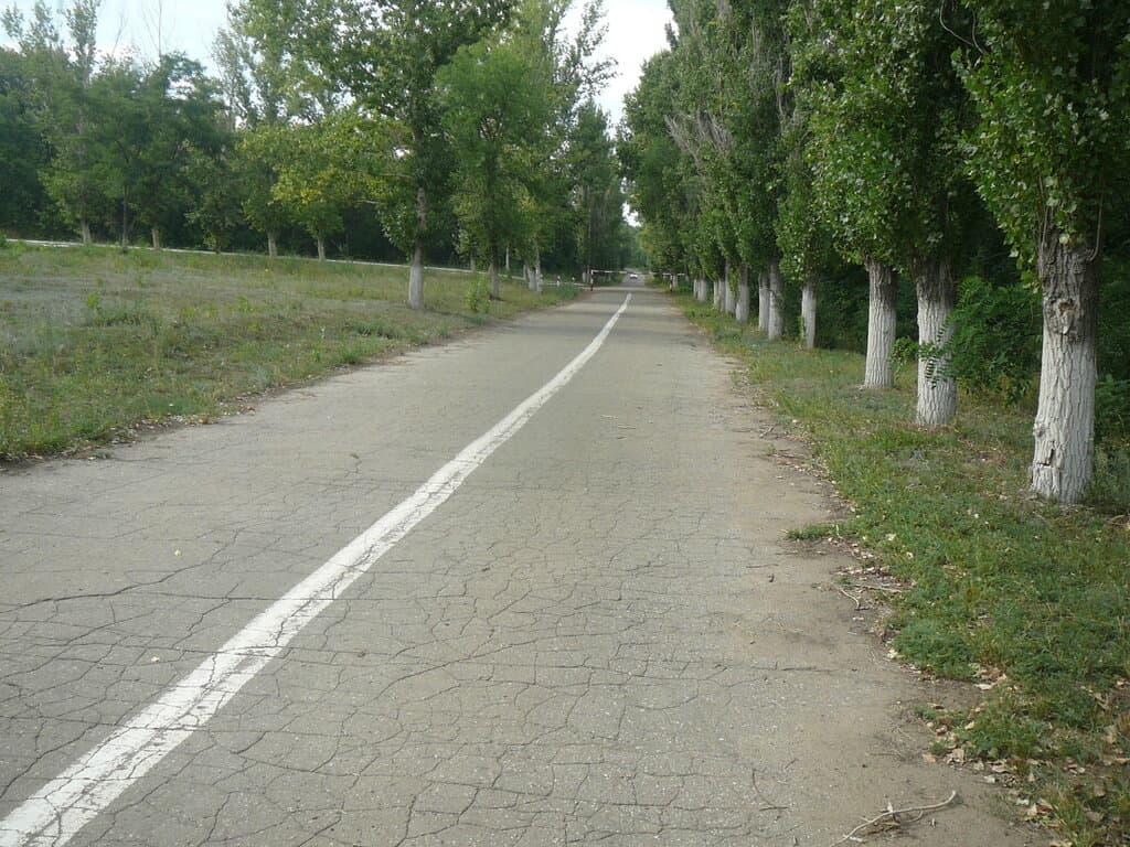 Асфальтная дорога