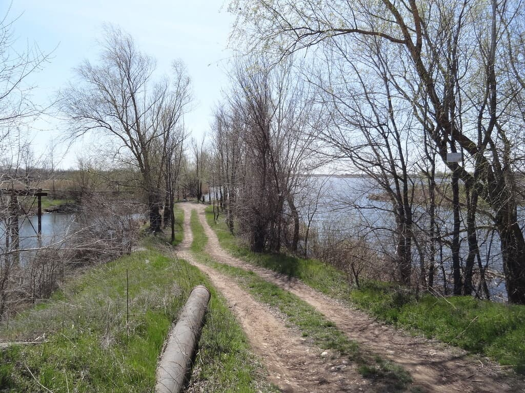 протока Пухлая дамба