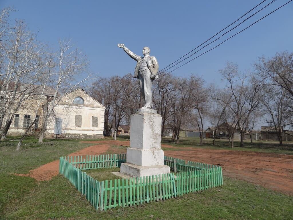 Терновка памятник Ленину