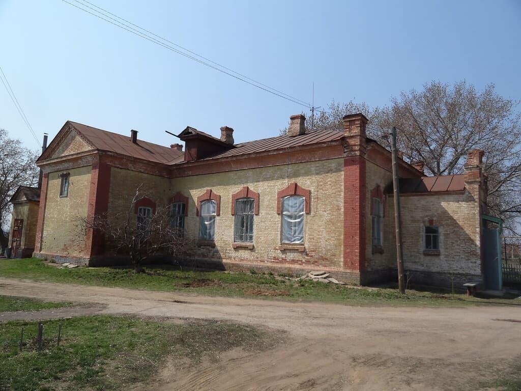 Старая узморская больница