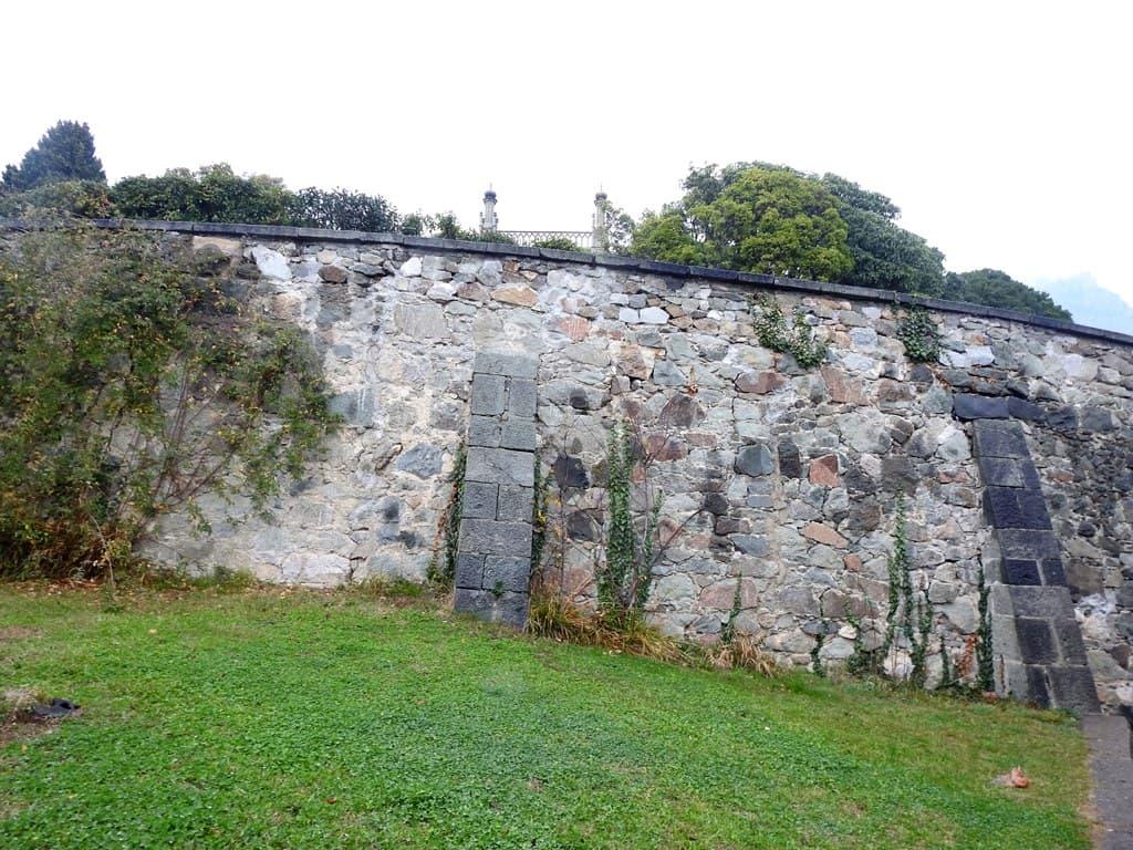 Воронцовский парк стена дворца