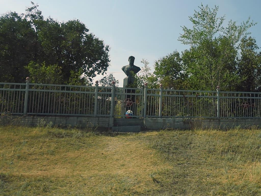 Памятник Николаю Скоморохову