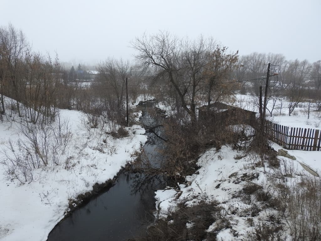 Еремеевка река Латрык