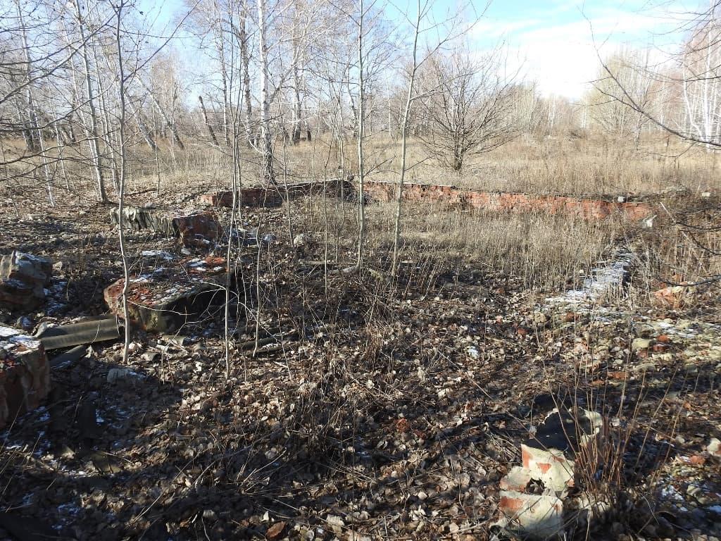 Руины лагеря
