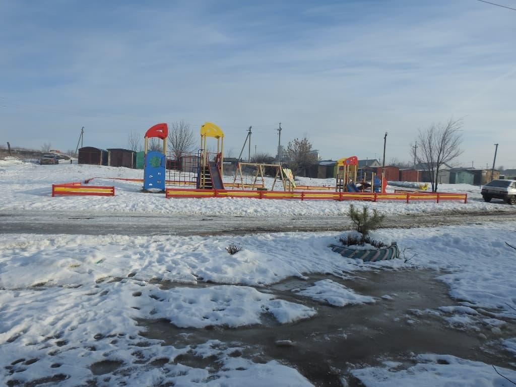 Михайловка детская площадка