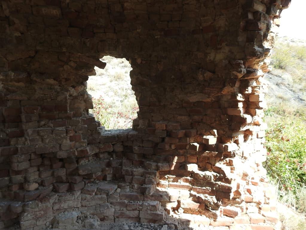 Руины печи