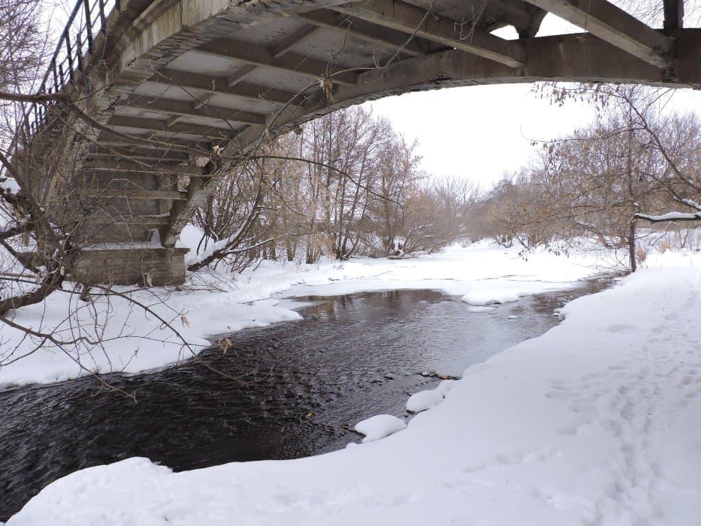 Мост в Поповке