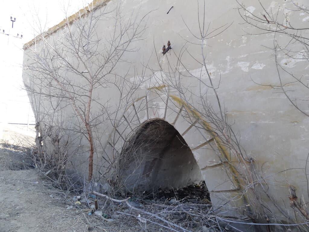 Остатки моста