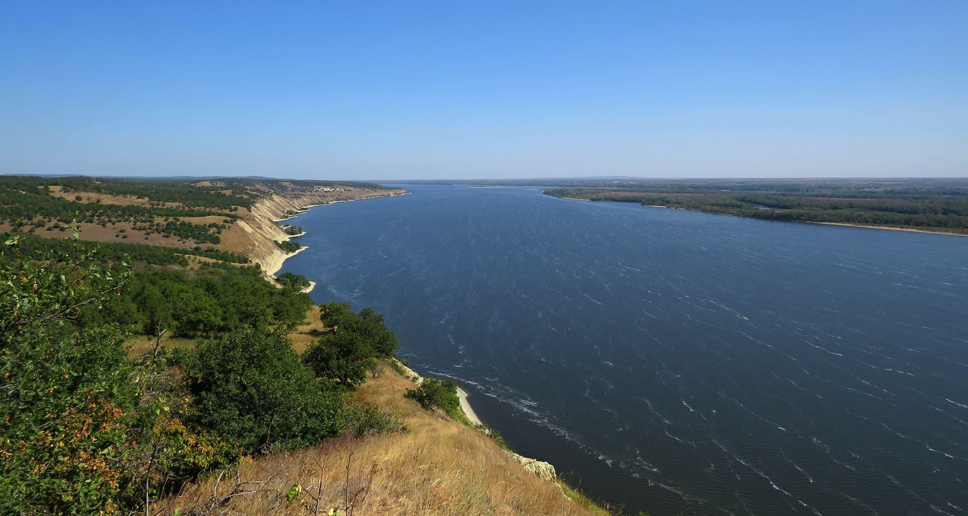 Змеевые горы и Волга