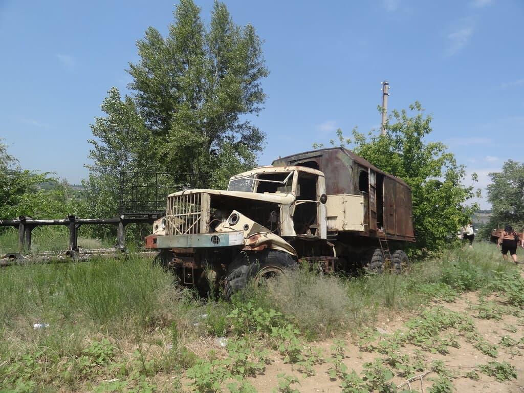Заброшенный грузовик